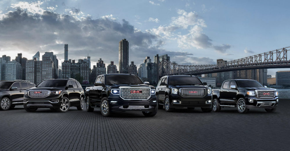 GMC Sales Increases for October