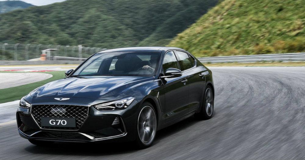 Driving Fun in the New Genesis G70