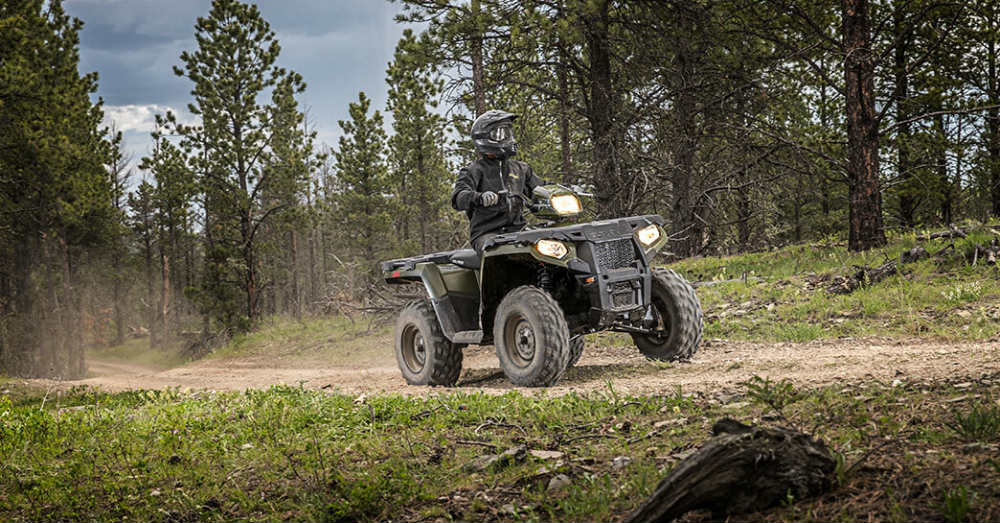 Let the Sportsman 570 Give You a Great Ride