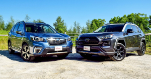 Toyota RAV4 and Subaru Forester - Crossovers Made for Adventure