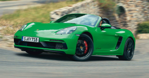 Find More Excitement in the Porsche 718 Boxster GTS 4.0