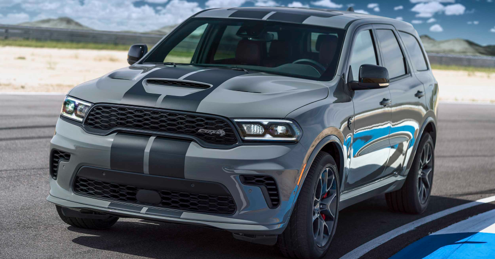 The Dodge Durango SRT Hellcat Brings You All the Power