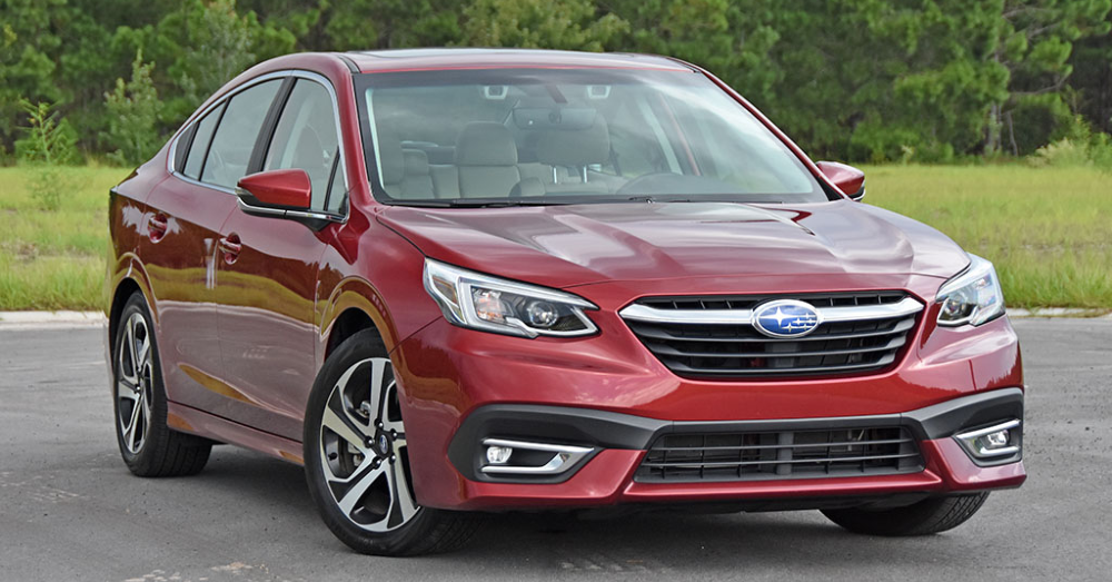 Picture Yourself Driving the Subaru Legacy Limited